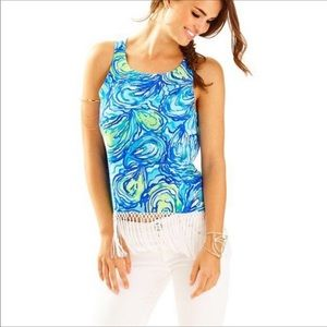 Lily Pulitzer Sonya Sparkling BL Sleeveless Top